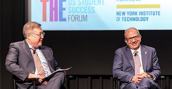 Stevens President Discusses STEM Diversity at Times Higher Education Forum