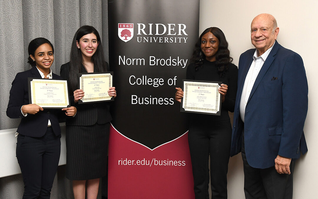 Win a full scholarship to Rider University from anywhere in the world