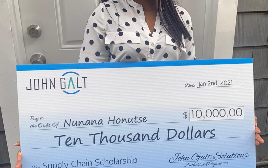 Rider University student wins $10,000 scholarship, named future supply chain leader