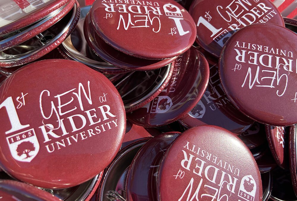Rider University nationally recognized as First-gen Forward Institution